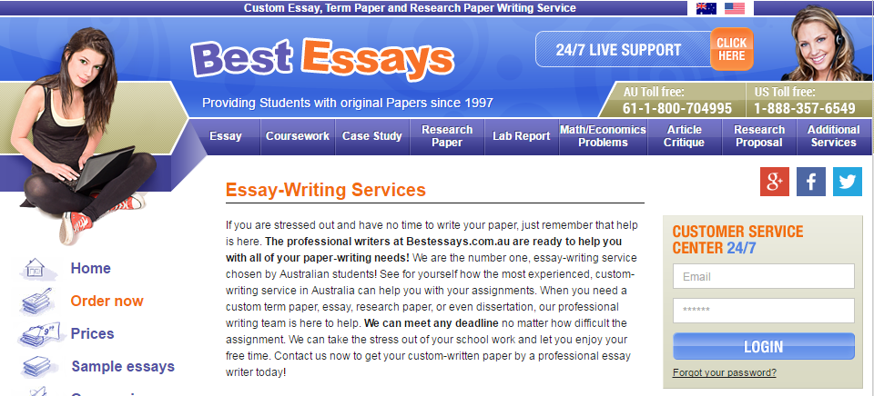 BestEssays.com.au Review | AussiEssayServices