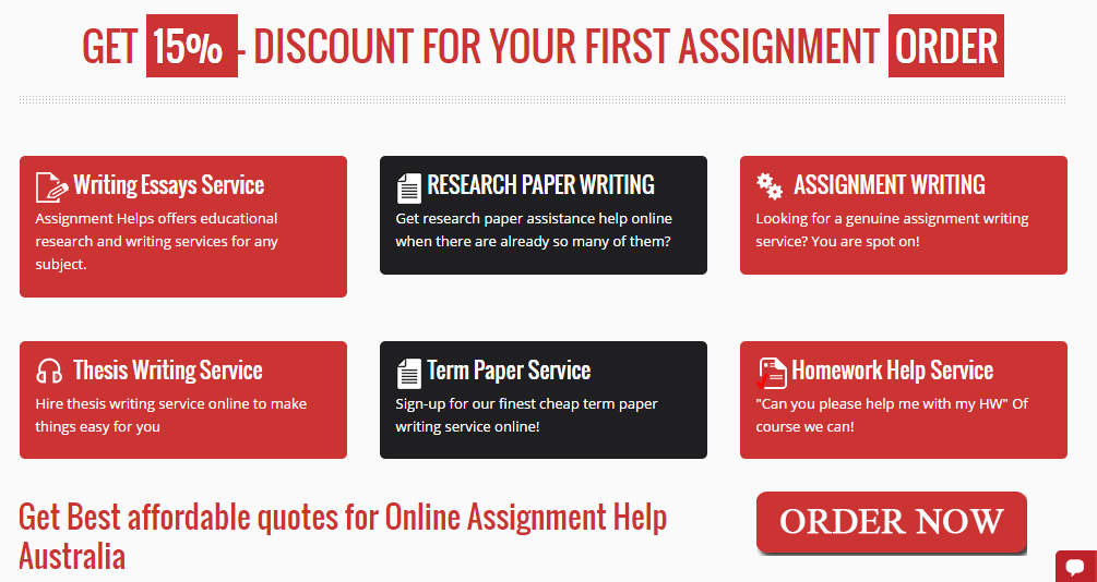 Essay writing assignment help australia