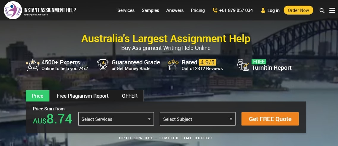 instantassignmenthelp.com.au review
